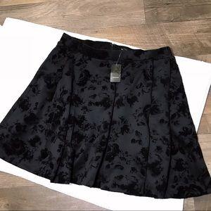 Torrid Skater Floral Skirt